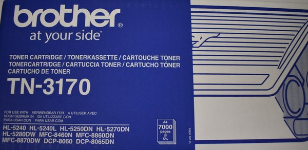 Brother TN-3170 - Original - Tonerkassette schwarz